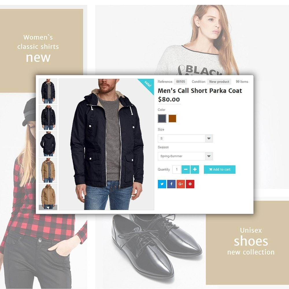 theme - Мода и обувь - Shopsys - Trendy Clothes - 5