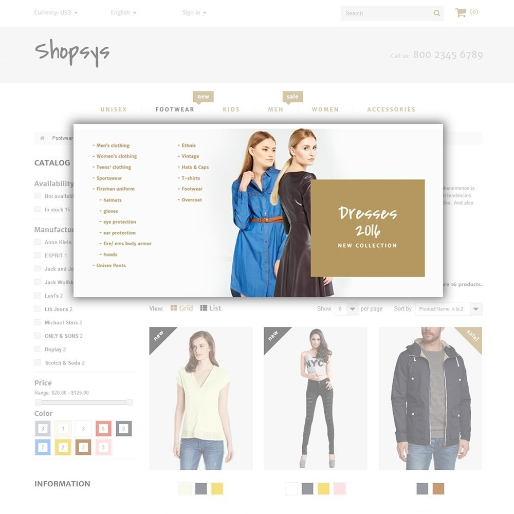 theme - Moda & Calzature - Shopsys - Trendy Clothes - 6
