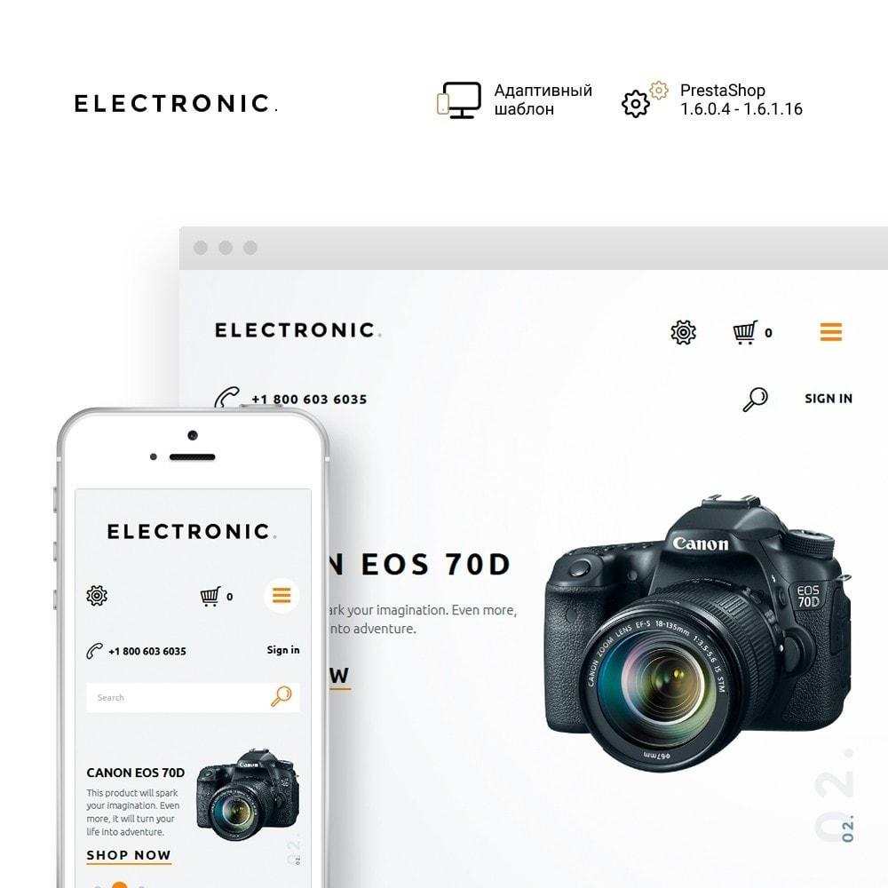 theme - Электроника и компьютеры - Electronic - White Electronics Store - 1