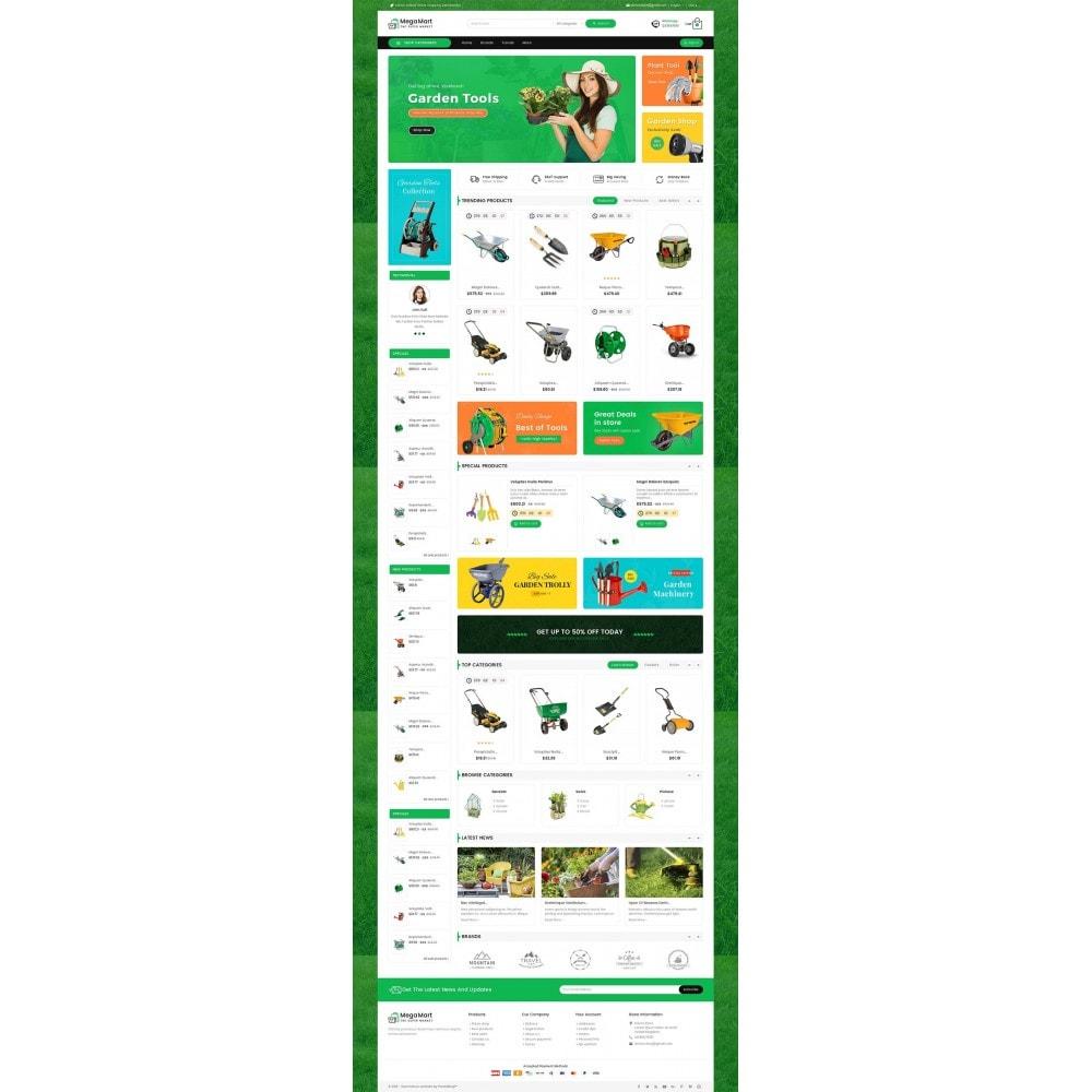 theme - Casa & Jardins - Mega Mart Gardening Tools - 2