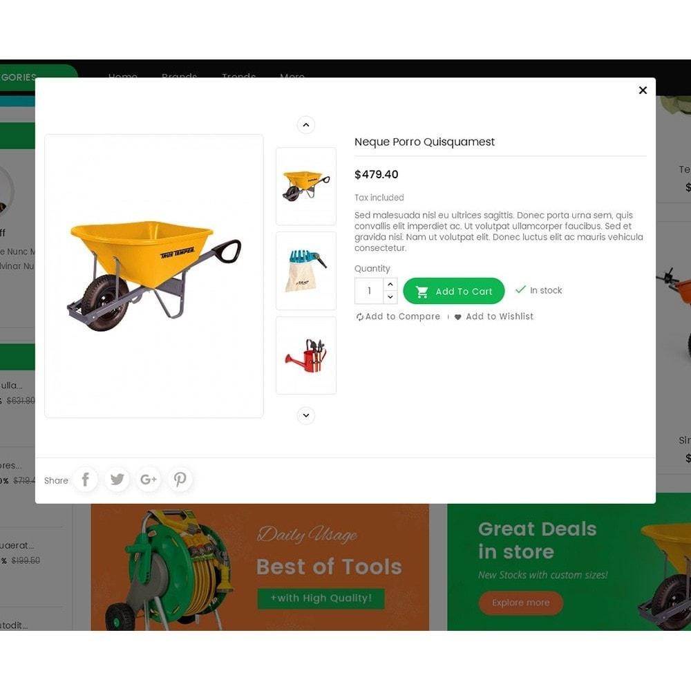 theme - Casa & Jardins - Mega Mart Gardening Tools - 8