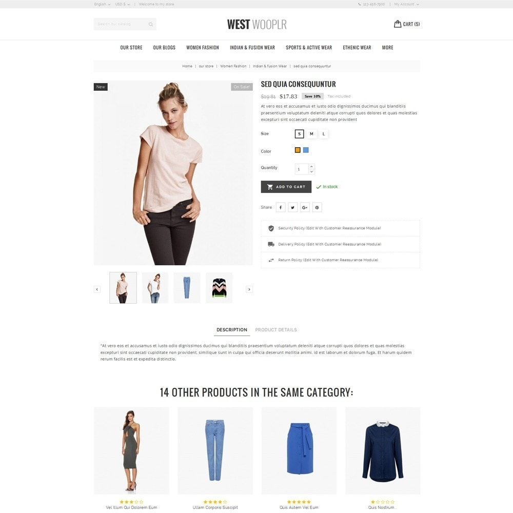 theme - Moda & Calzature - West Wooplr - Fashion Collection - 6