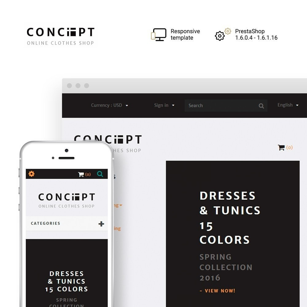 theme - Mode & Schoenen - Concept - Apparel Store - 1