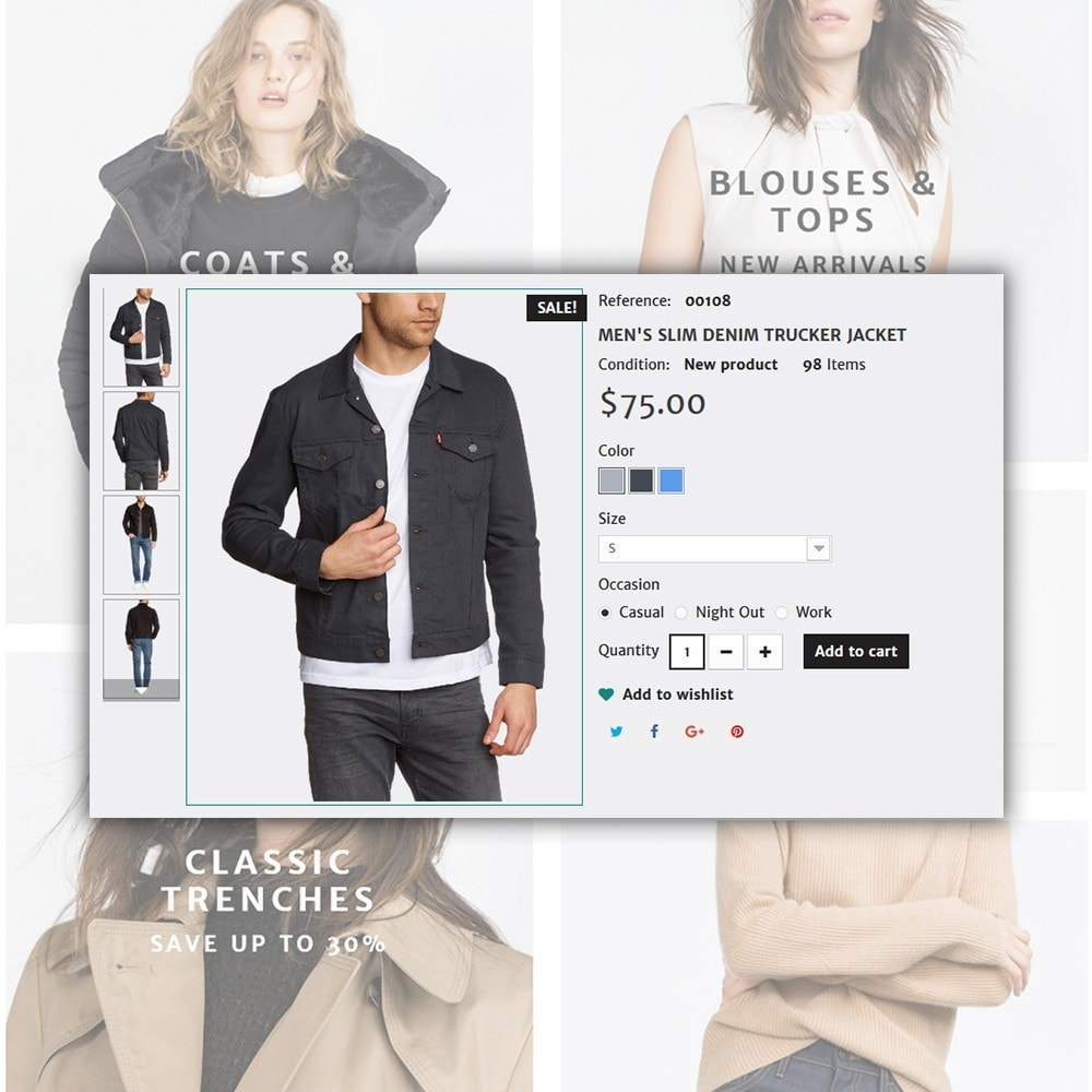 theme - Mode & Chaussures - Concept - Apparel Store - 6