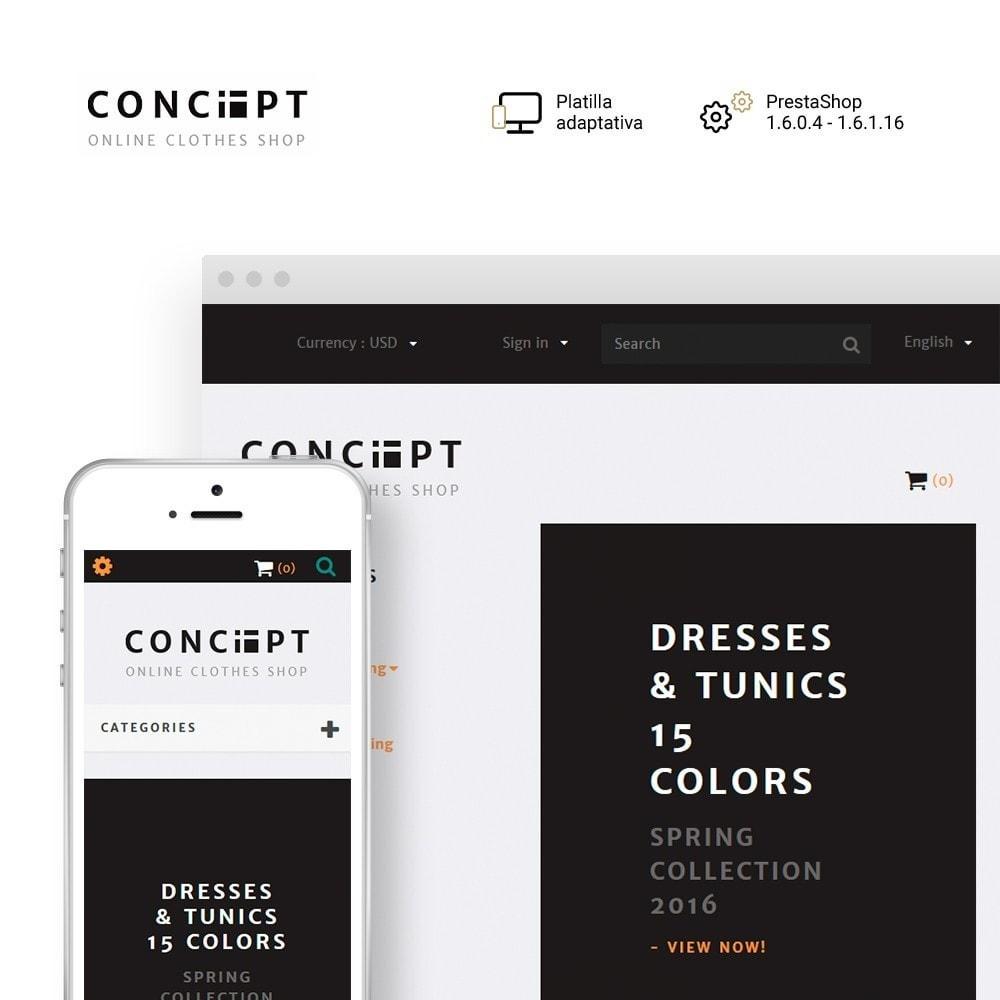 theme - Moda y Calzado - Concept - Apparel Store - 1