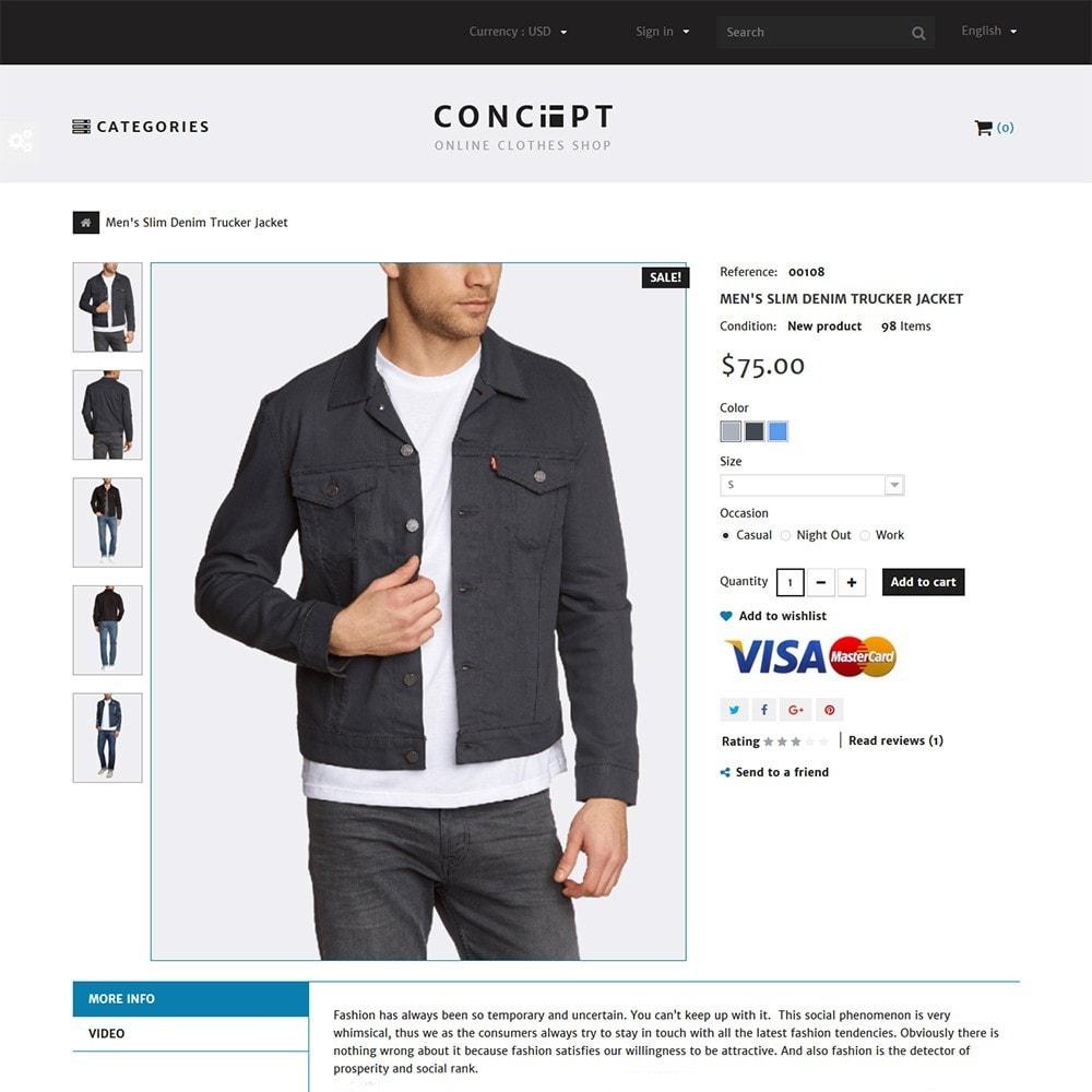 theme - Moda y Calzado - Concept - Apparel Store - 3