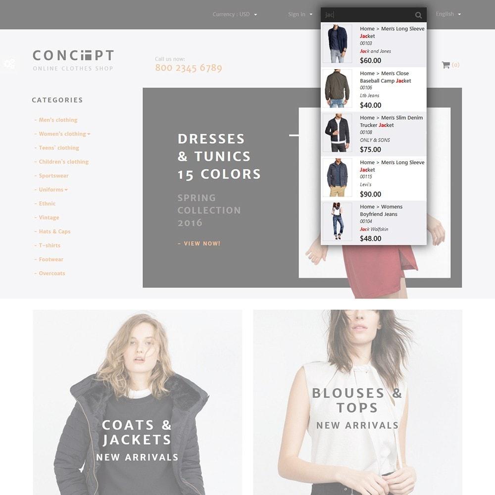 theme - Moda y Calzado - Concept - Apparel Store - 5