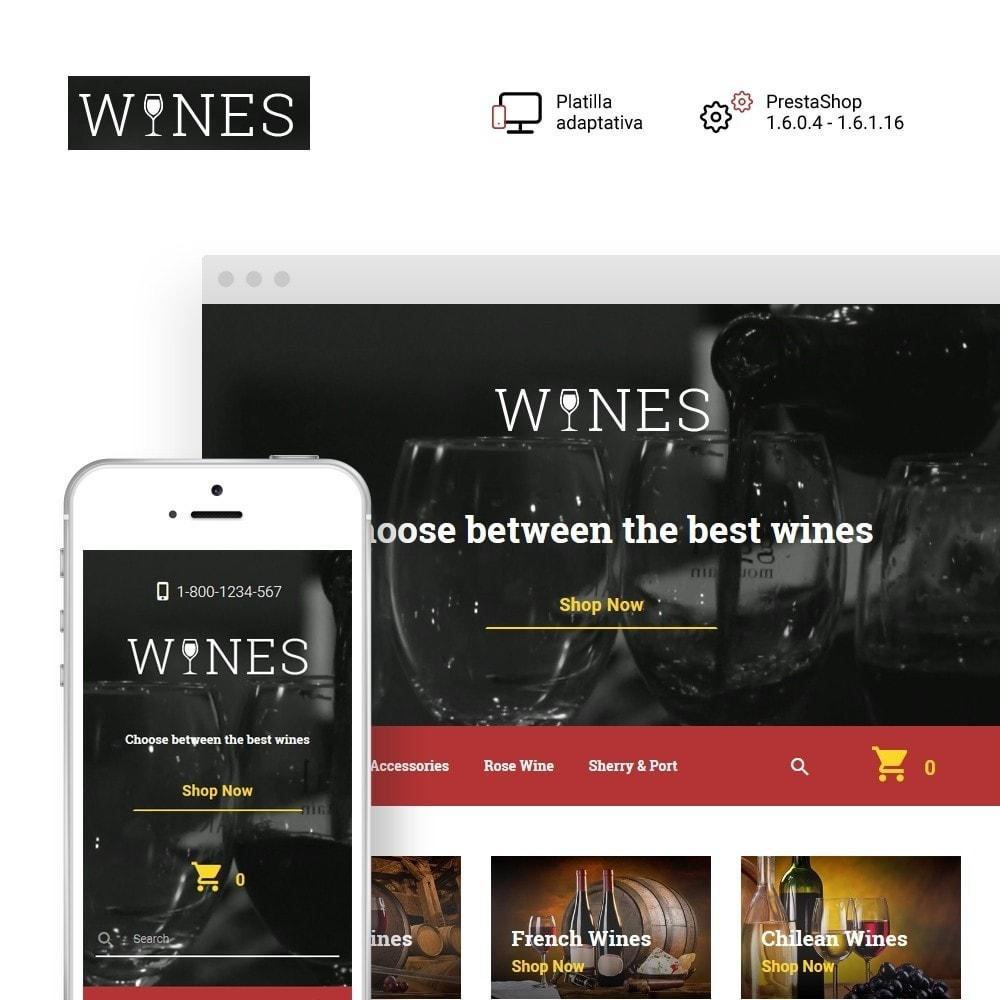 theme - Gastronomía y Restauración - Wines - Wine Store - 1