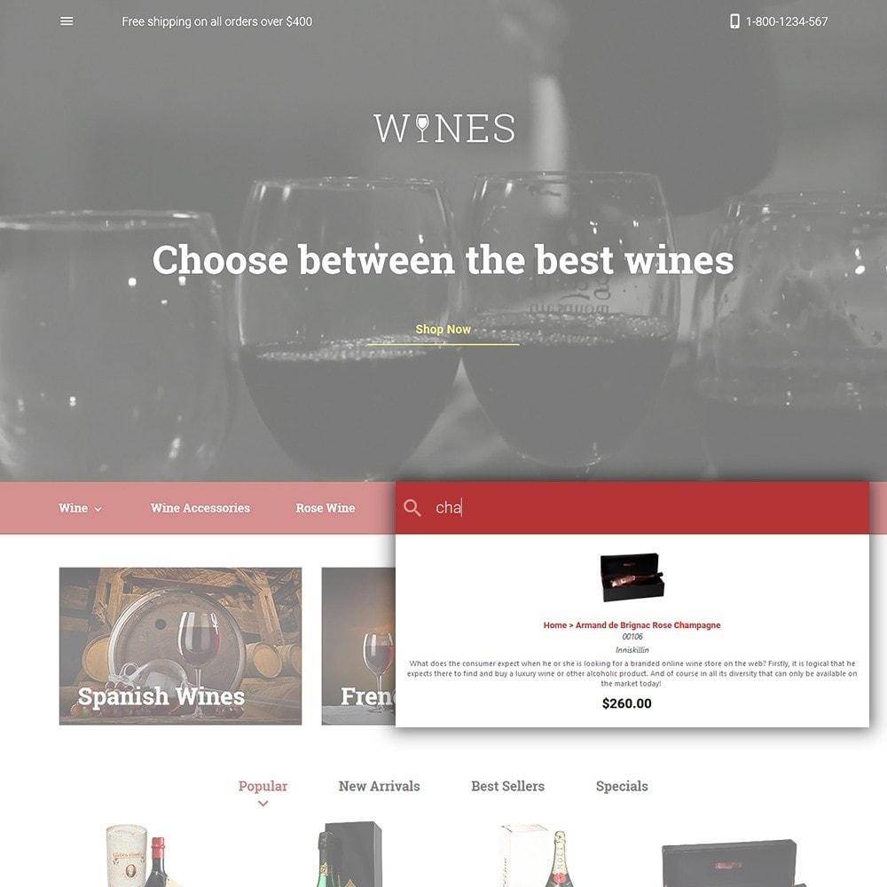 theme - Gastronomía y Restauración - Wines - Wine Store - 6