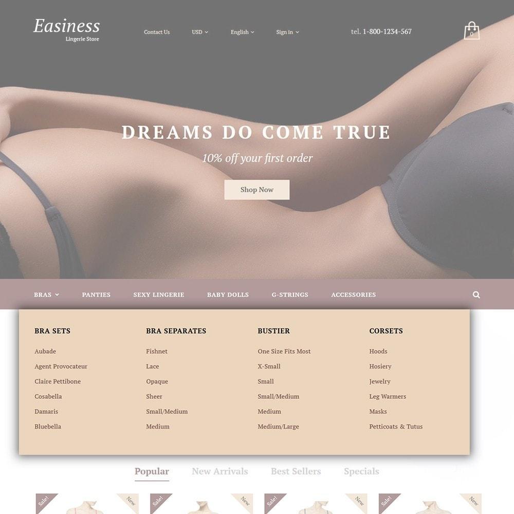 theme - Moda y Calzado - Easiness - Lingerie Store - 4