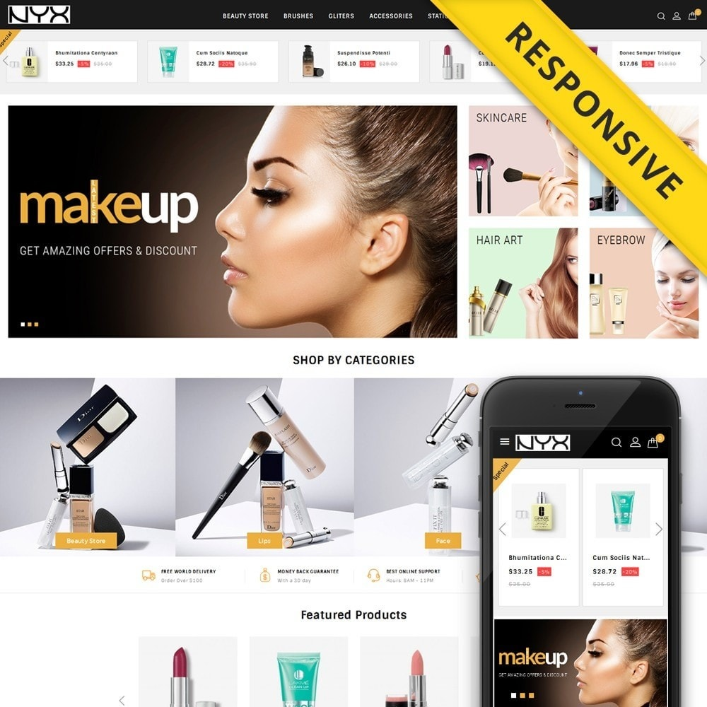 NYX - Cosmetic Store