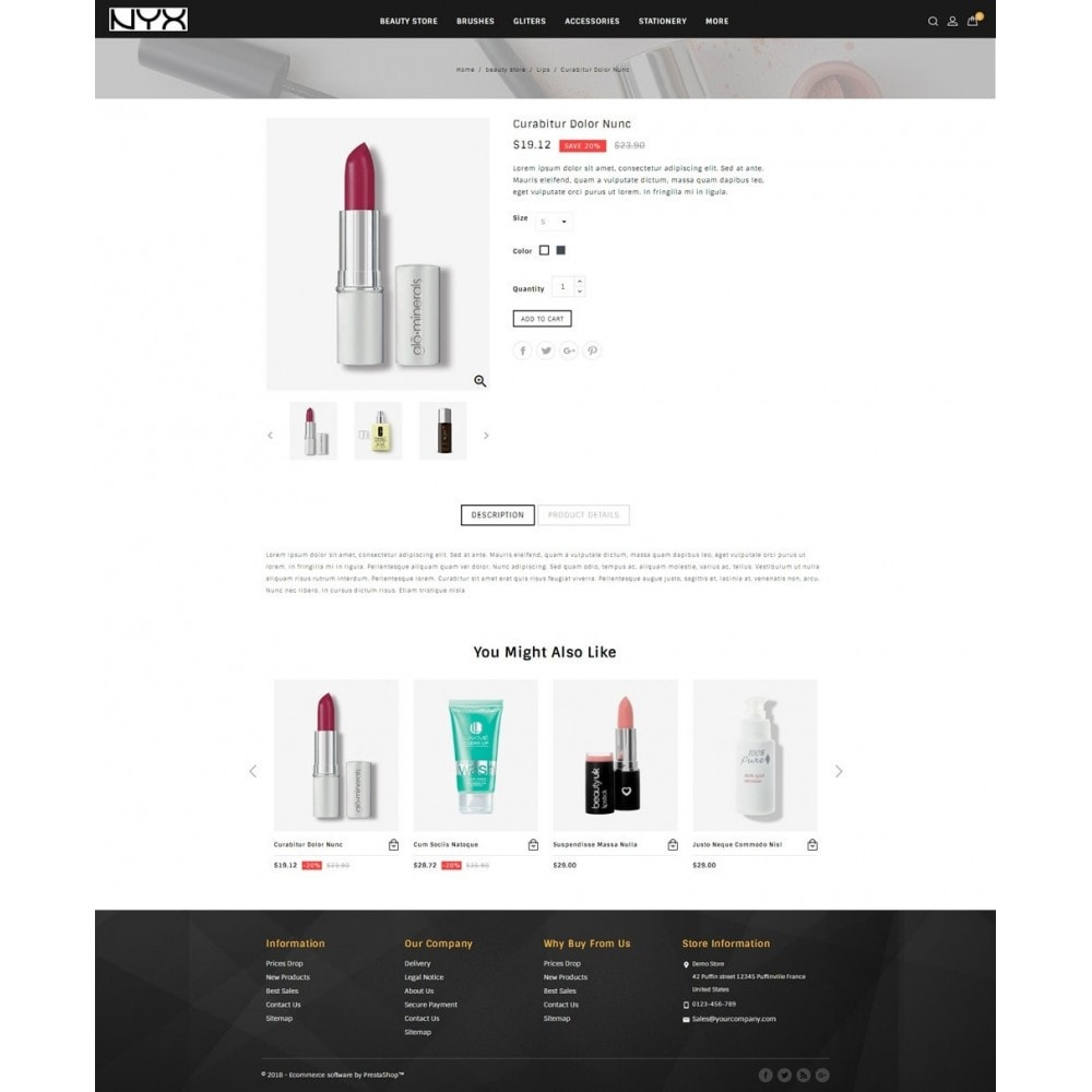 theme - Mode & Schoenen - NYX - Cosmetic Store - 4