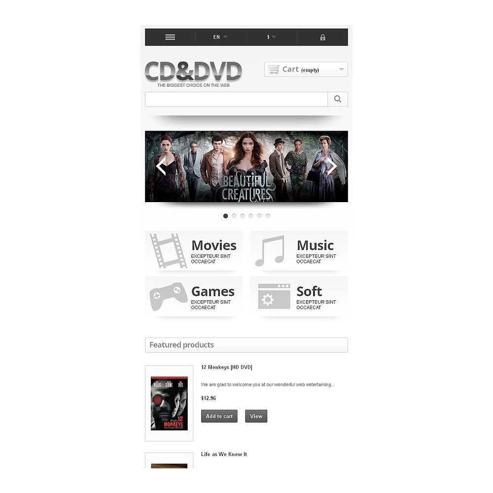 theme - Kids & Toys - Responsive CD & DVD Store - 9