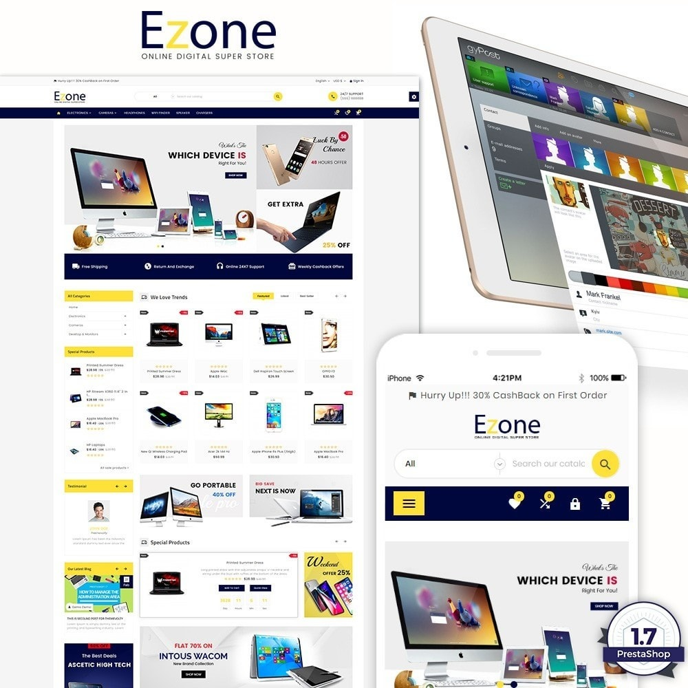 Ezone  – Electronic Super Store v3