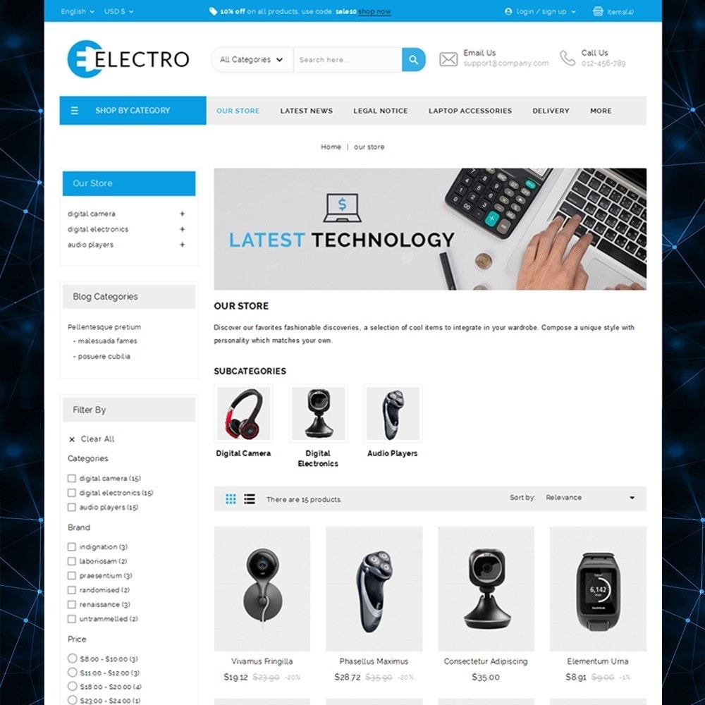 Electro - The Electronic Store