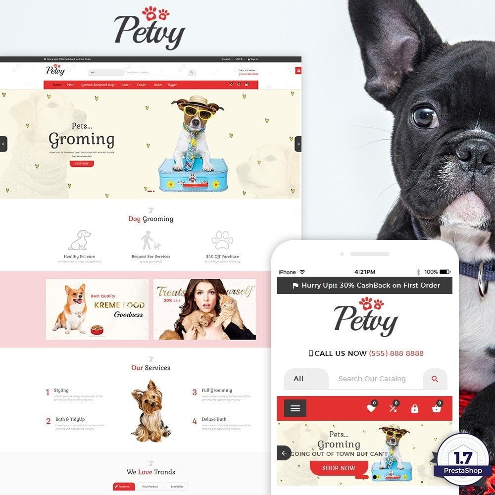 Petoy – Pets and Animal Store