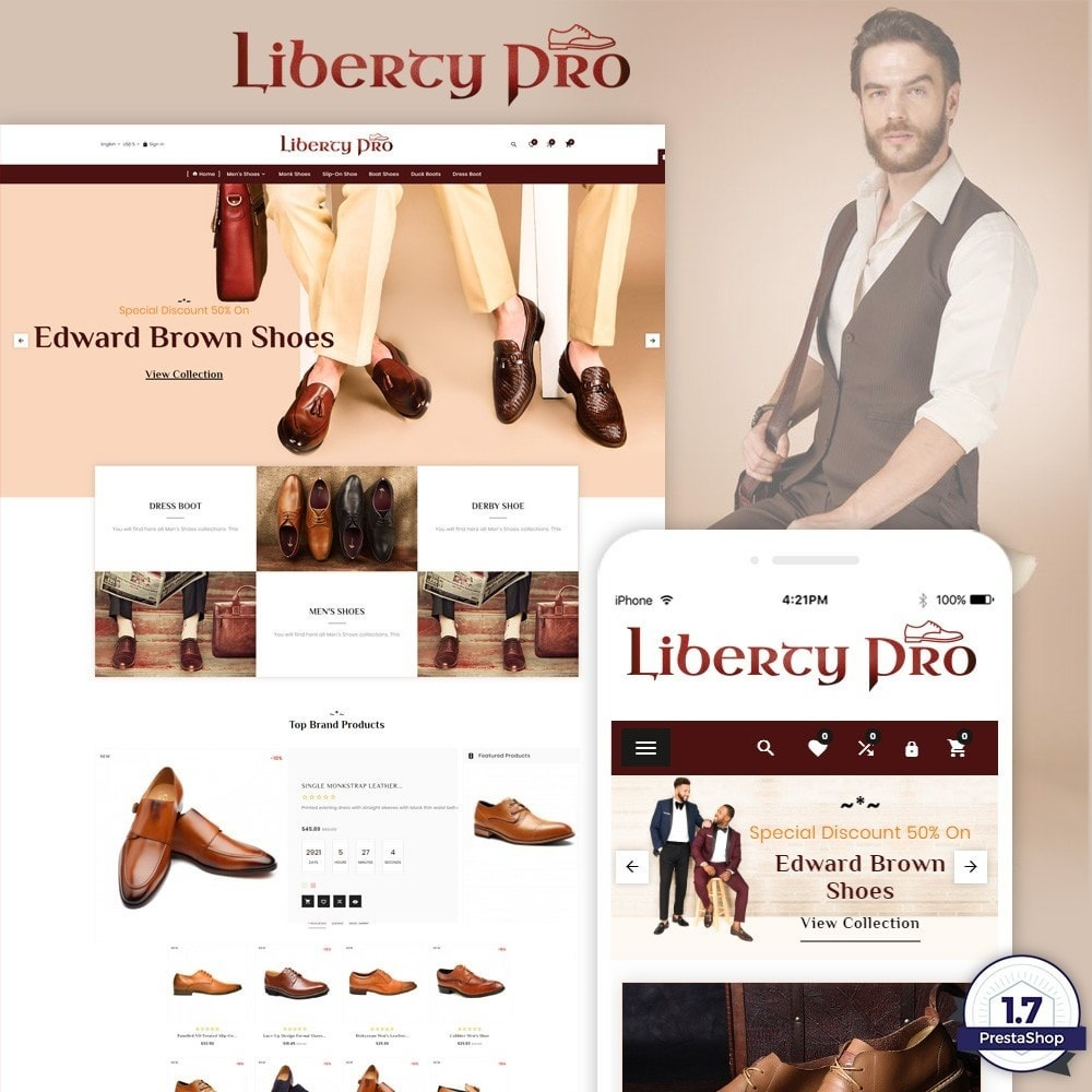 theme - Mode & Schoenen - Liberty – Formal Shoes Store - 1