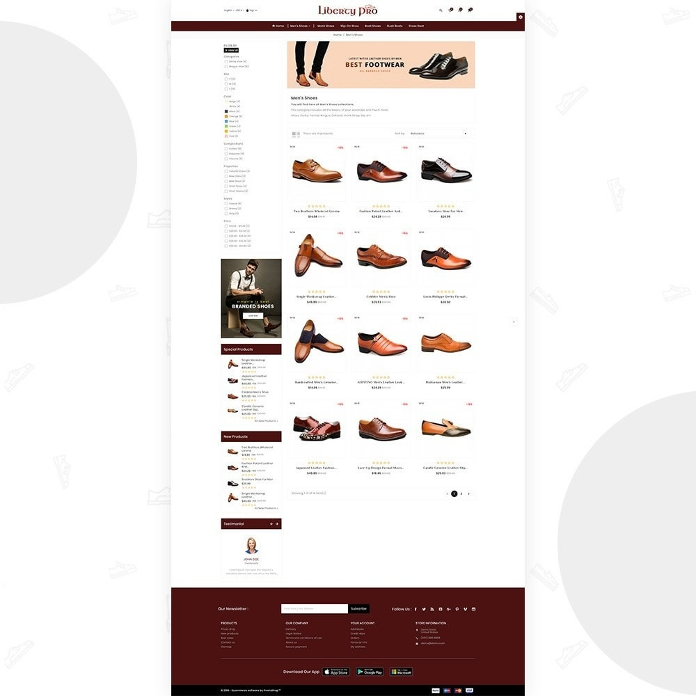 theme - Mode & Schoenen - Liberty – Formal Shoes Store - 4