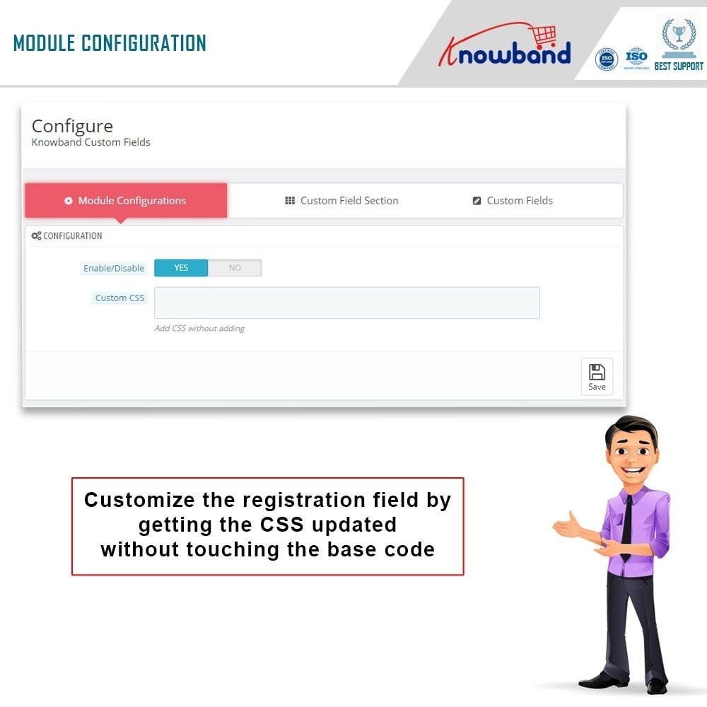 module - Registration & Ordering Process - Knowband - Custom Field Registration - 3