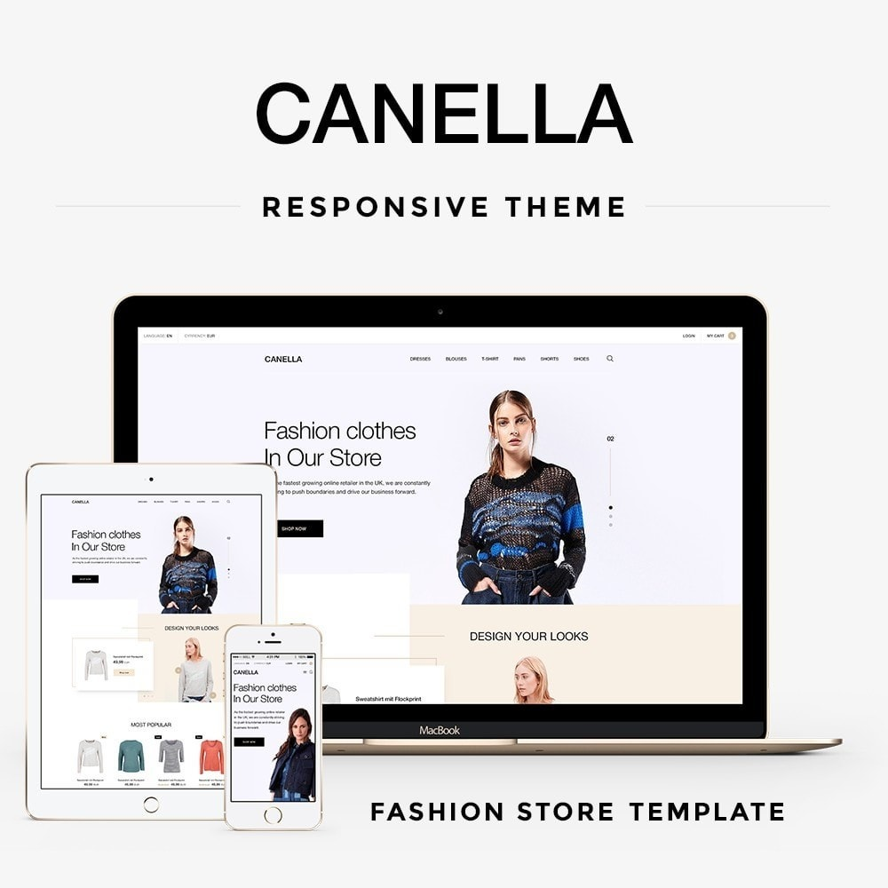 theme - Mode & Schoenen - Canella Fashion Store - 1