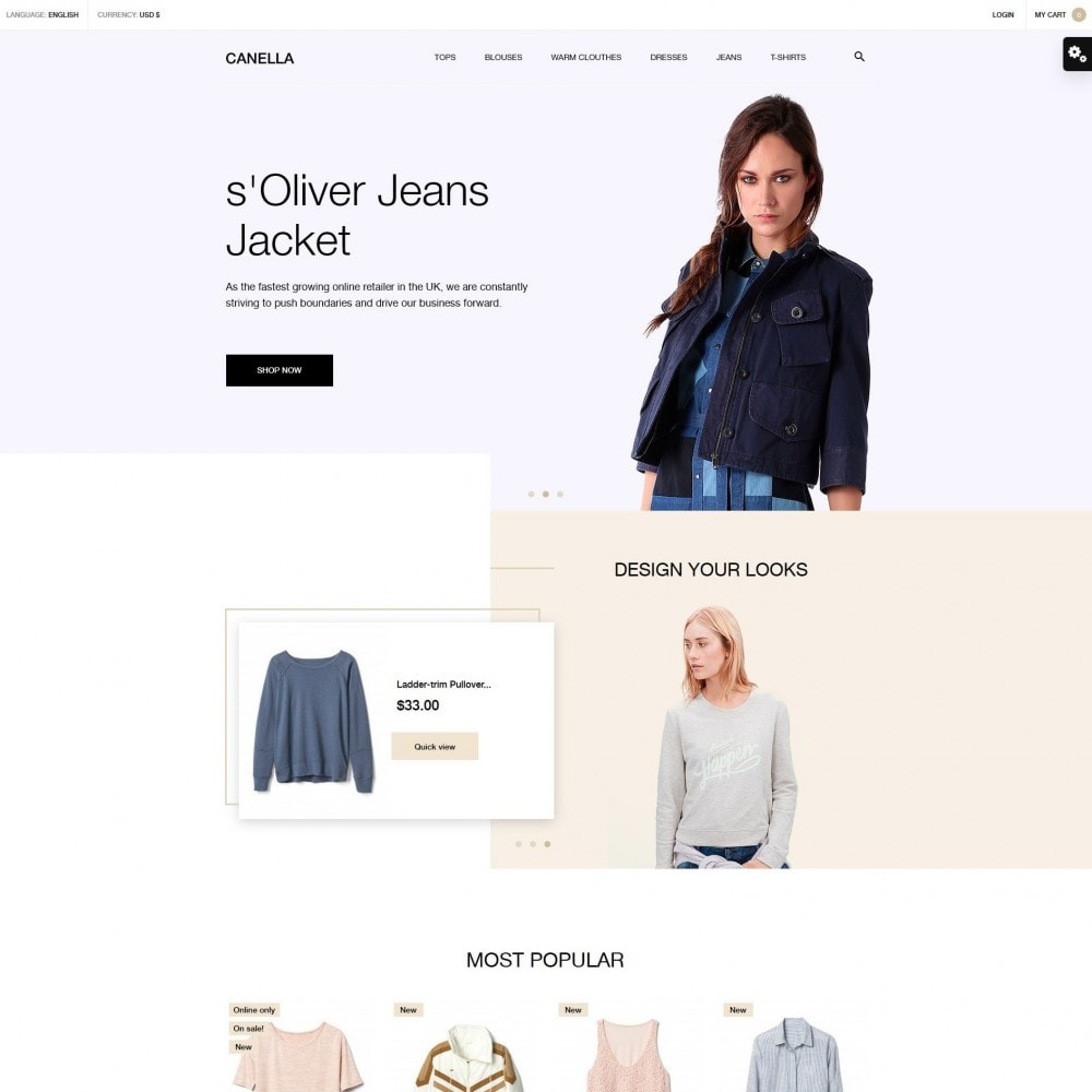 theme - Mode & Schoenen - Canella Fashion Store - 2