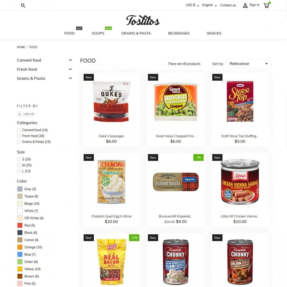 theme - Alimentation & Restauration - Tostitos - 5
