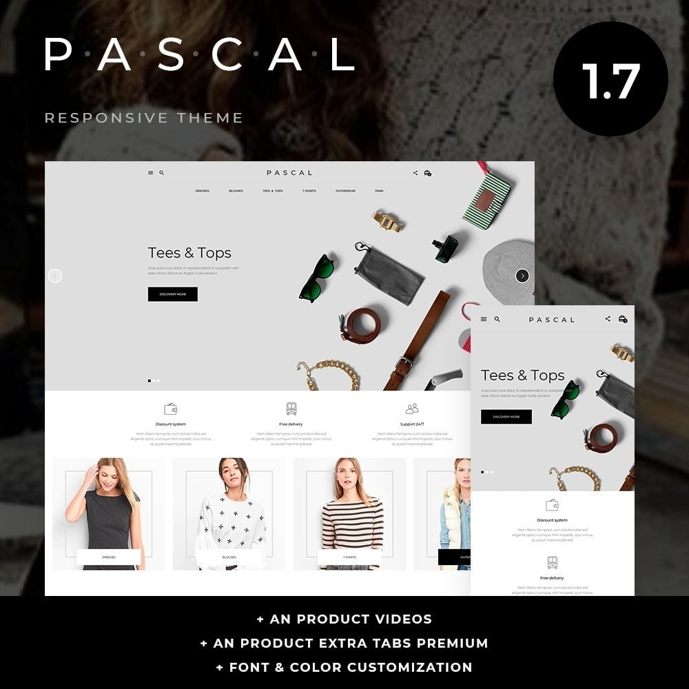 theme - Moda & Obuwie - Pascal Fashion Store - 1