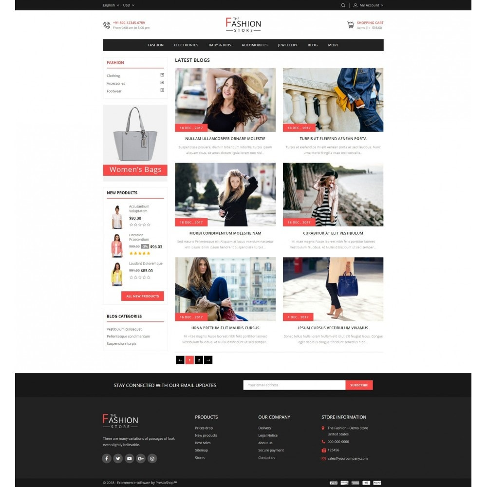 theme - Fashion & Shoes - The Fashion Store - 9
