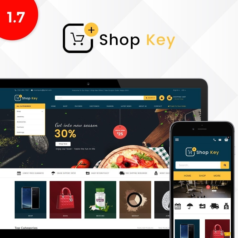 Shop key Store