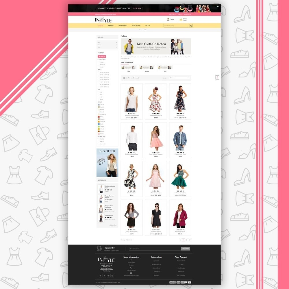 theme - Moda & Obuwie - InStyle Fashion Shop - 3