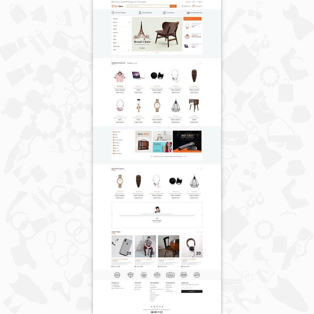 prestashop themes and designs
