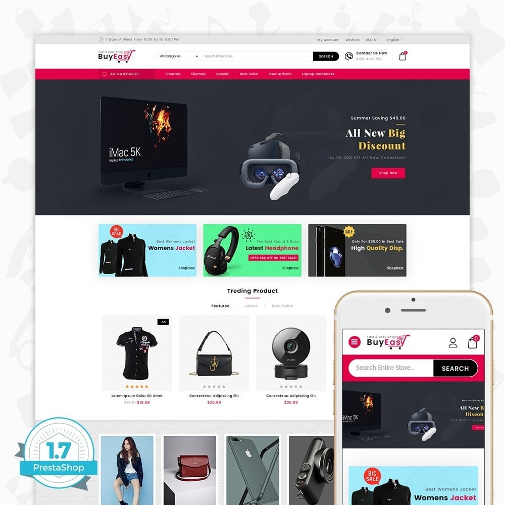 Buyeasy - Fast and Easy Shop