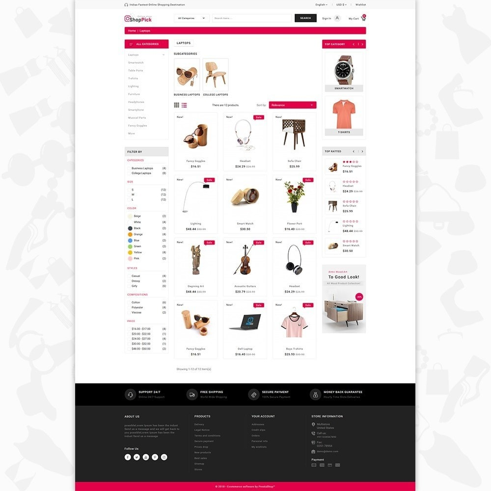 Shoppick - The Online Shop
