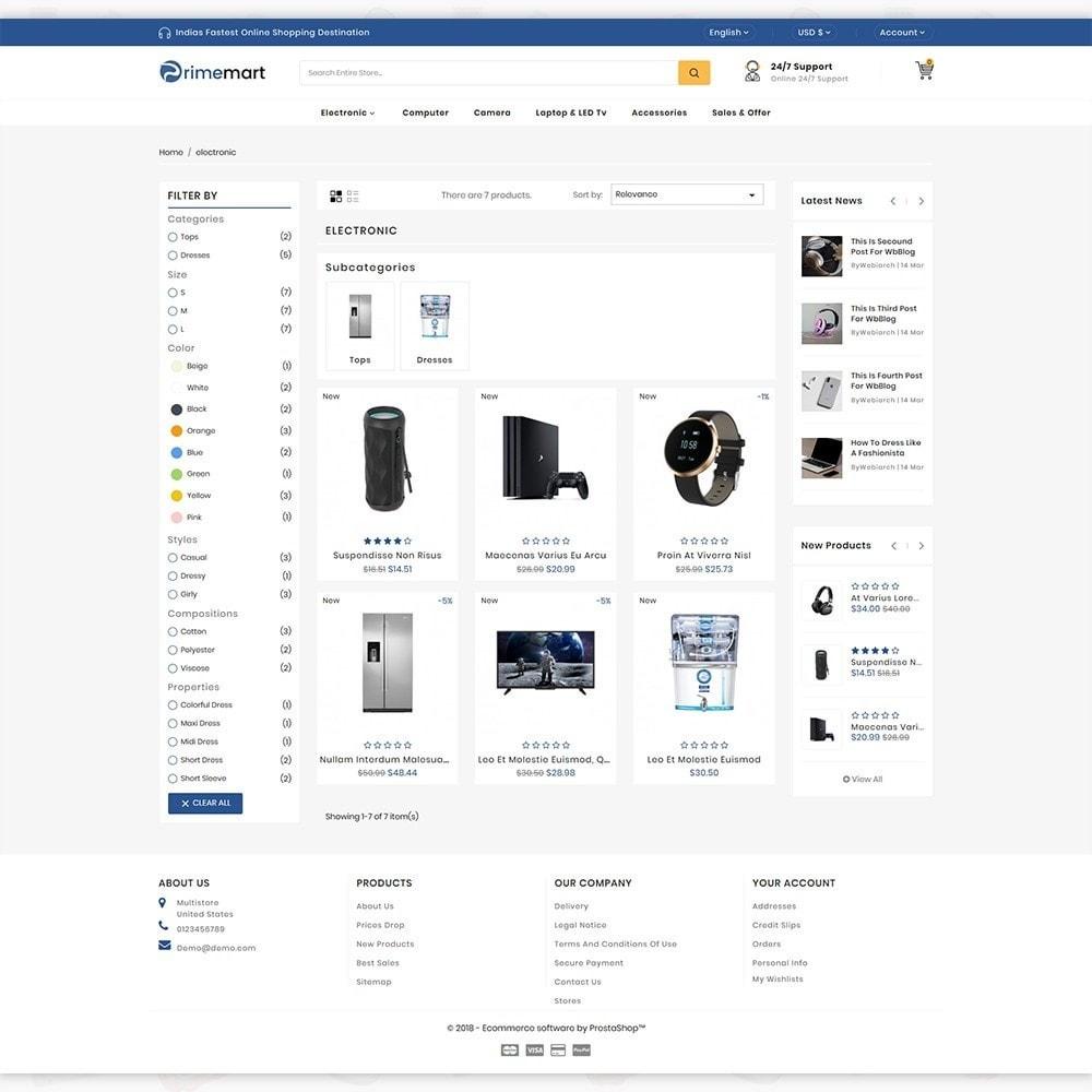 PrimeMart - The Mega Ecommerce Store