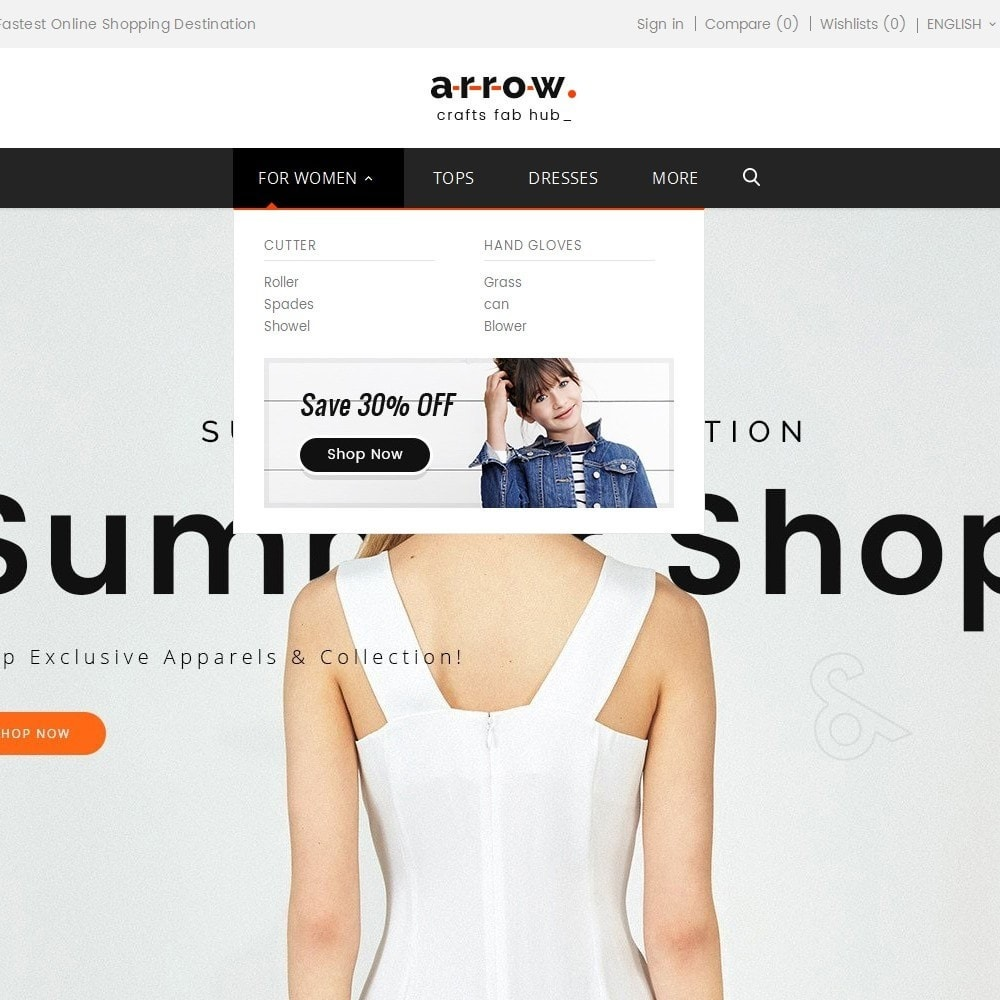 theme - Moda & Calçados - Arrow Fashion Apparels - 9