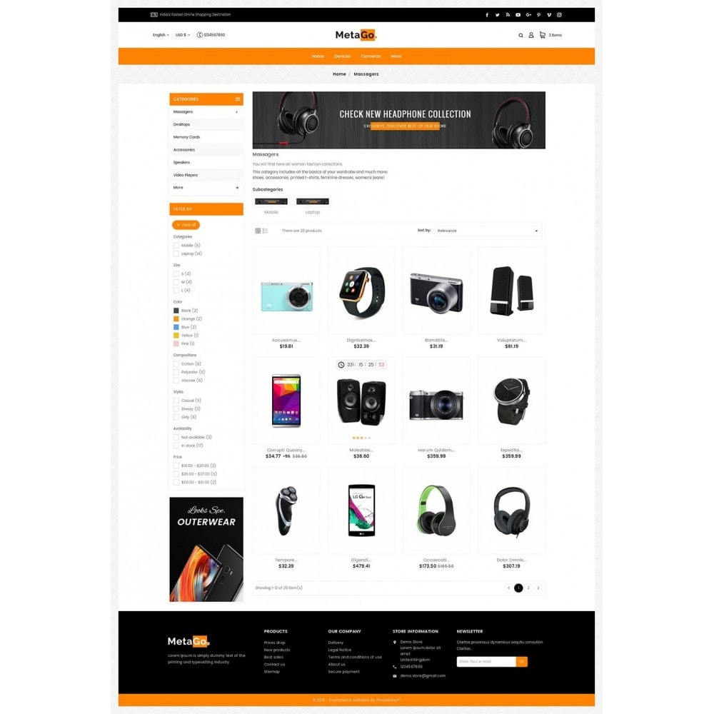 theme - Elektronica & High Tech - Melano Electronics Market - 3