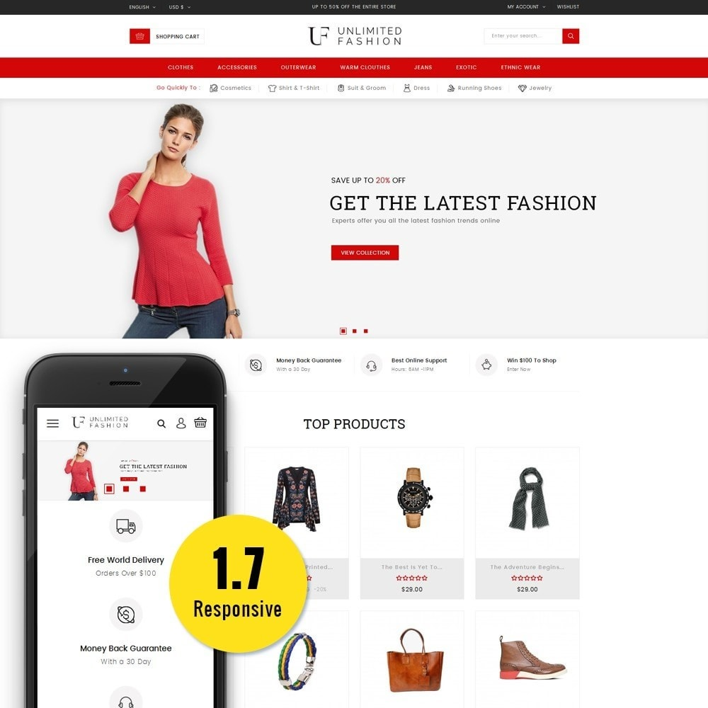 Unlimited Fashion Store