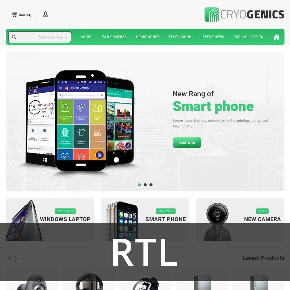 Cryogenics - The Electronics Store