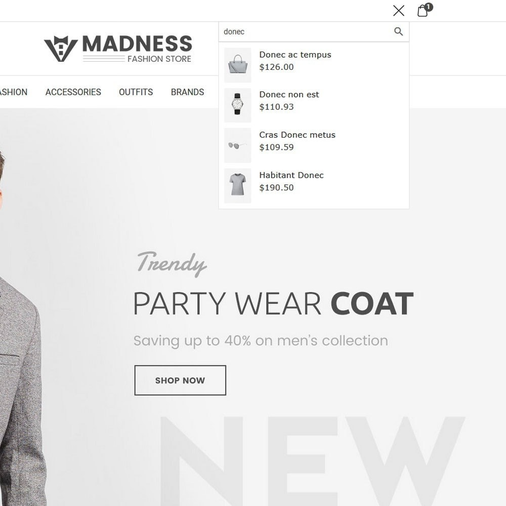 theme - Мода и обувь - Madness Fashion Store - 3