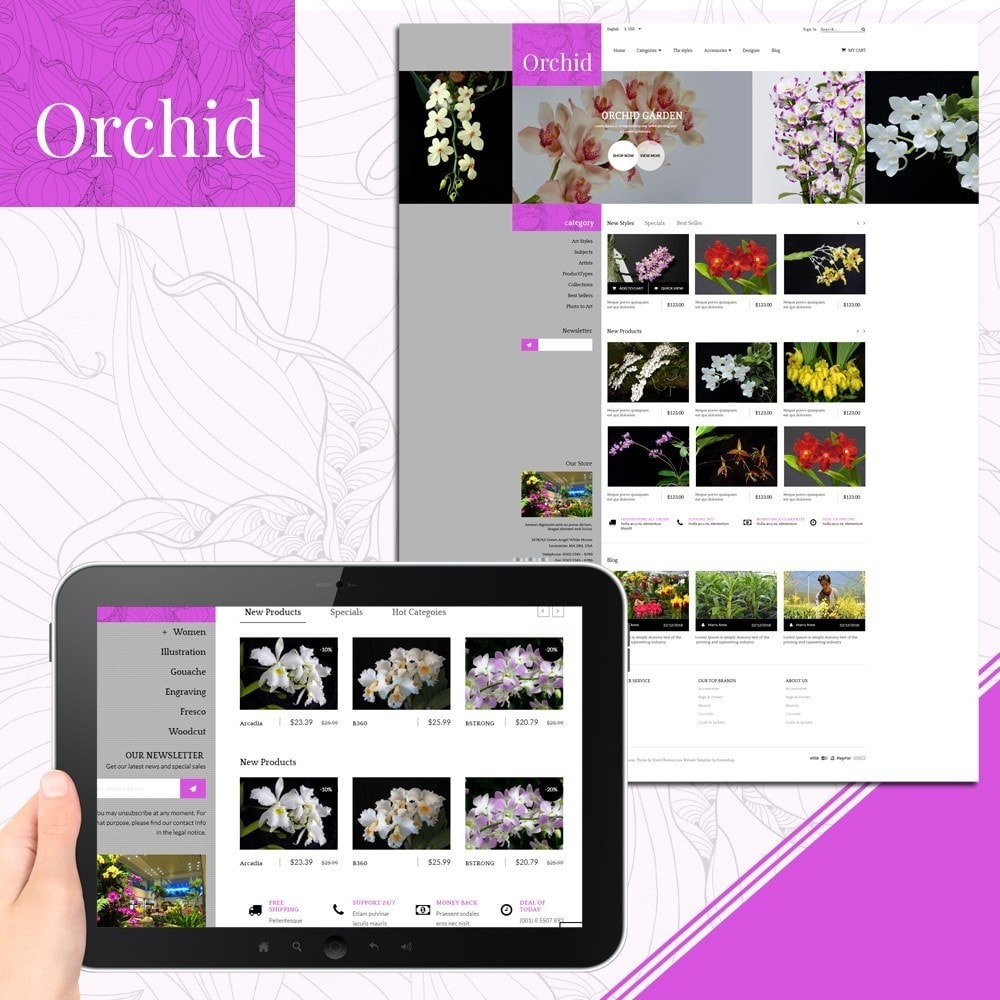 Orchid Flower Store