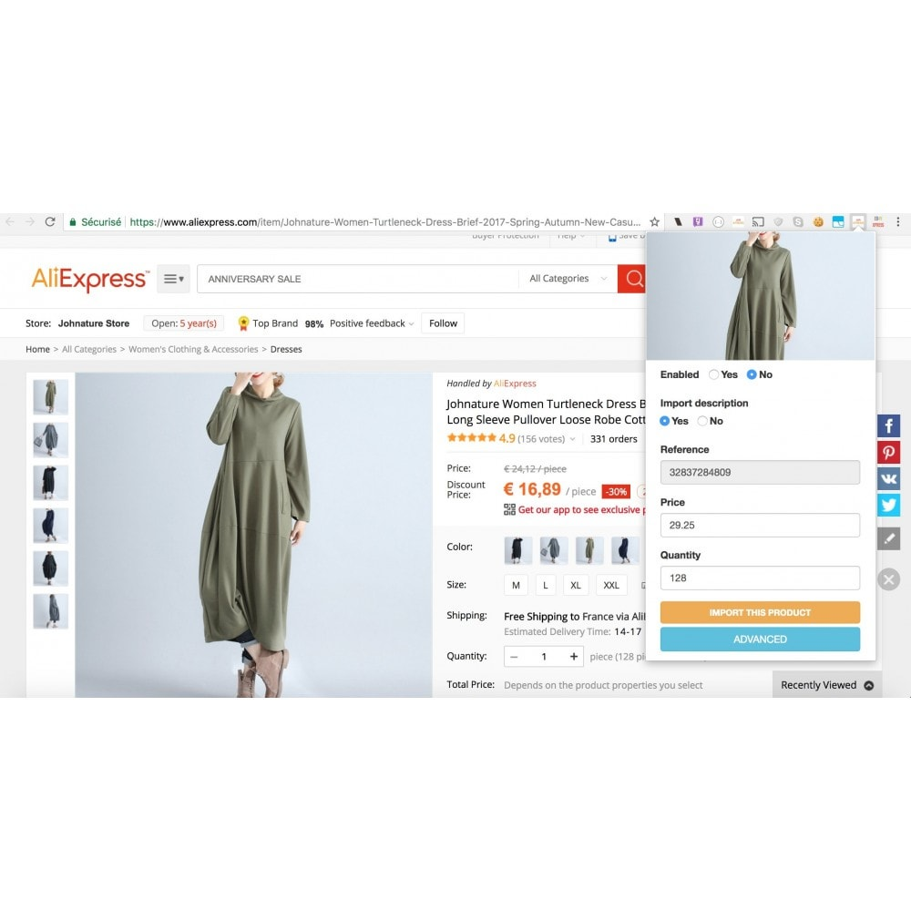 module - Dropshipping - Aliepxress Api dropshipping - products importer - 4