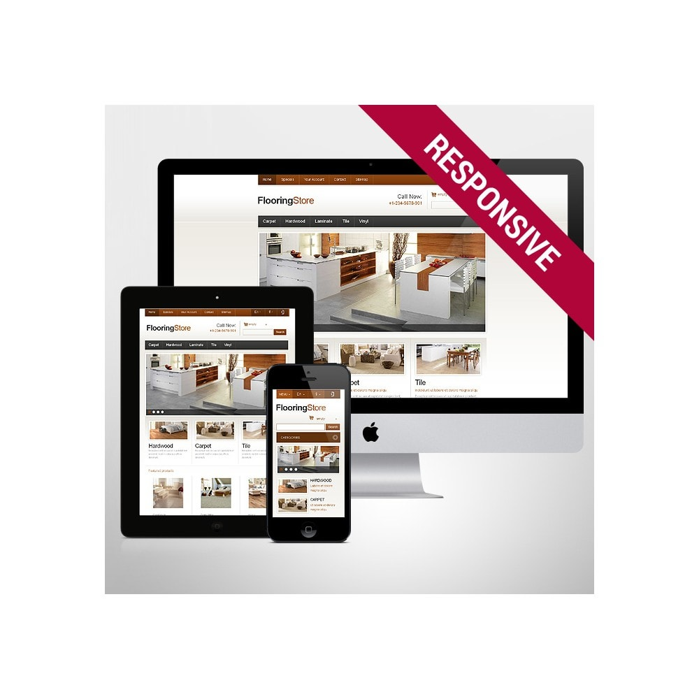 theme - Arte e Cultura - Responsive Flooring Store - 1