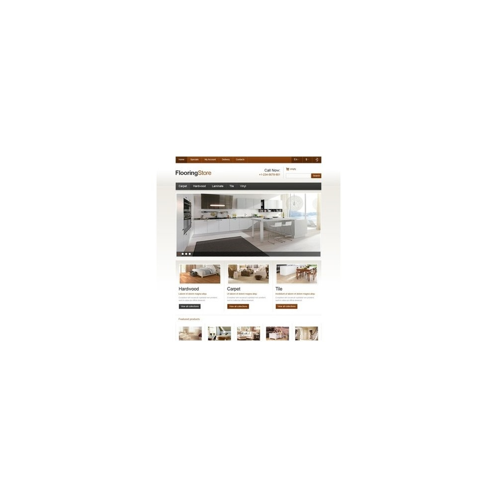 theme - Kunst & Kultur - Responsive Flooring Store - 2