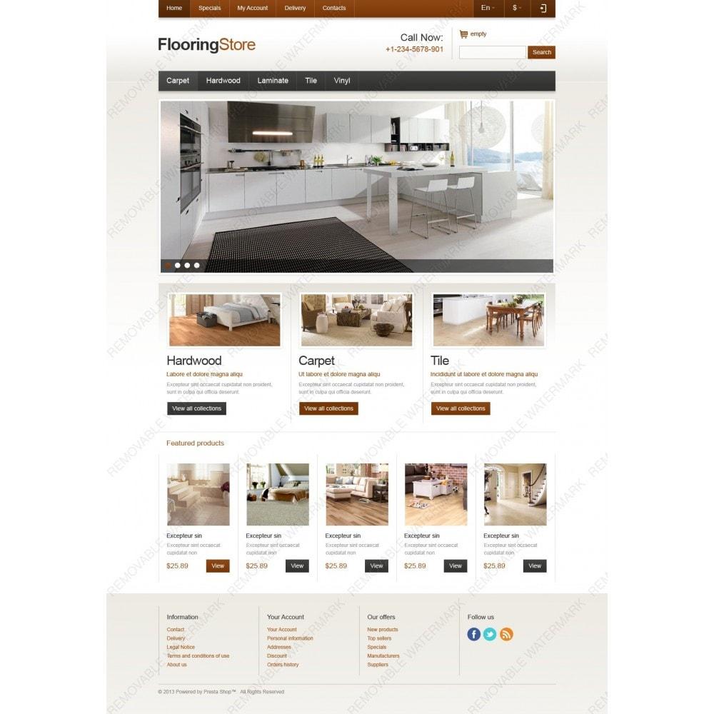 theme - Arte e Cultura - Responsive Flooring Store - 3