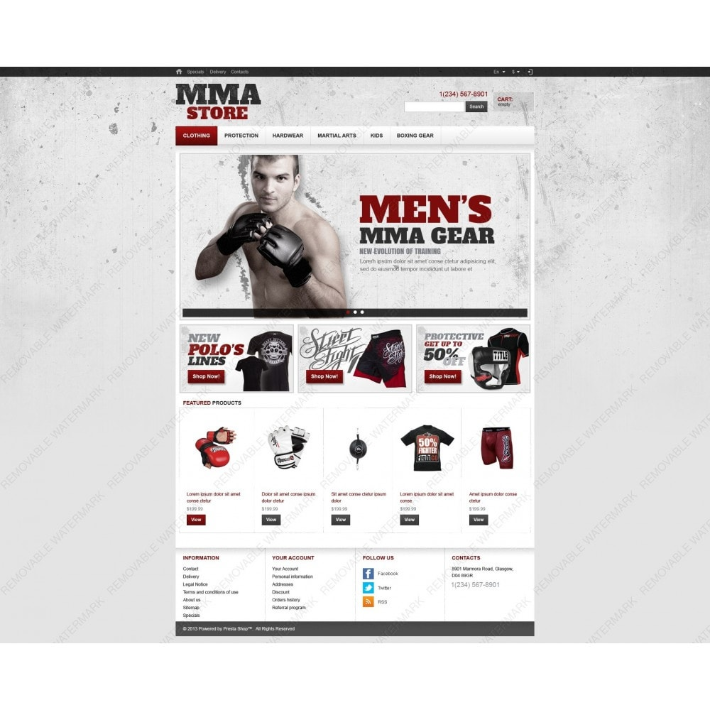 theme - Sports, Activities & Travel - Martial Arts Store - 6