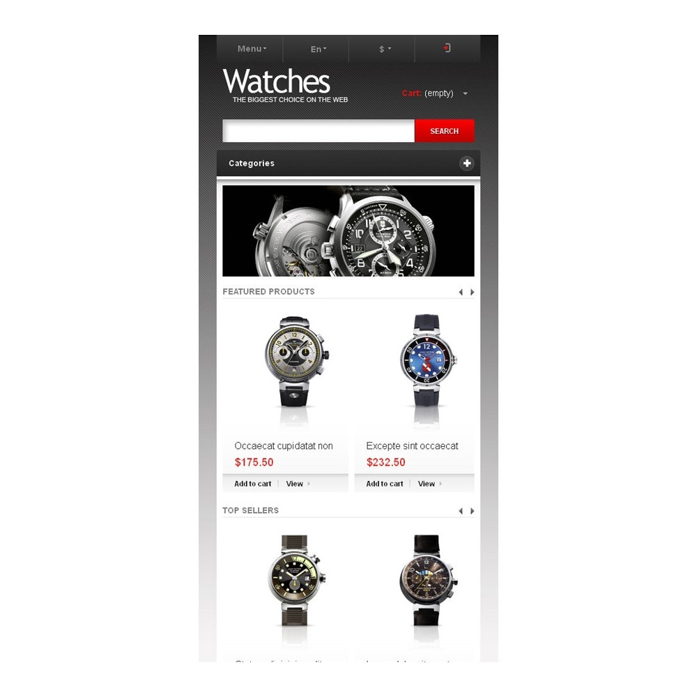 theme - Fashion & Shoes - Wrist Watch Store - 9