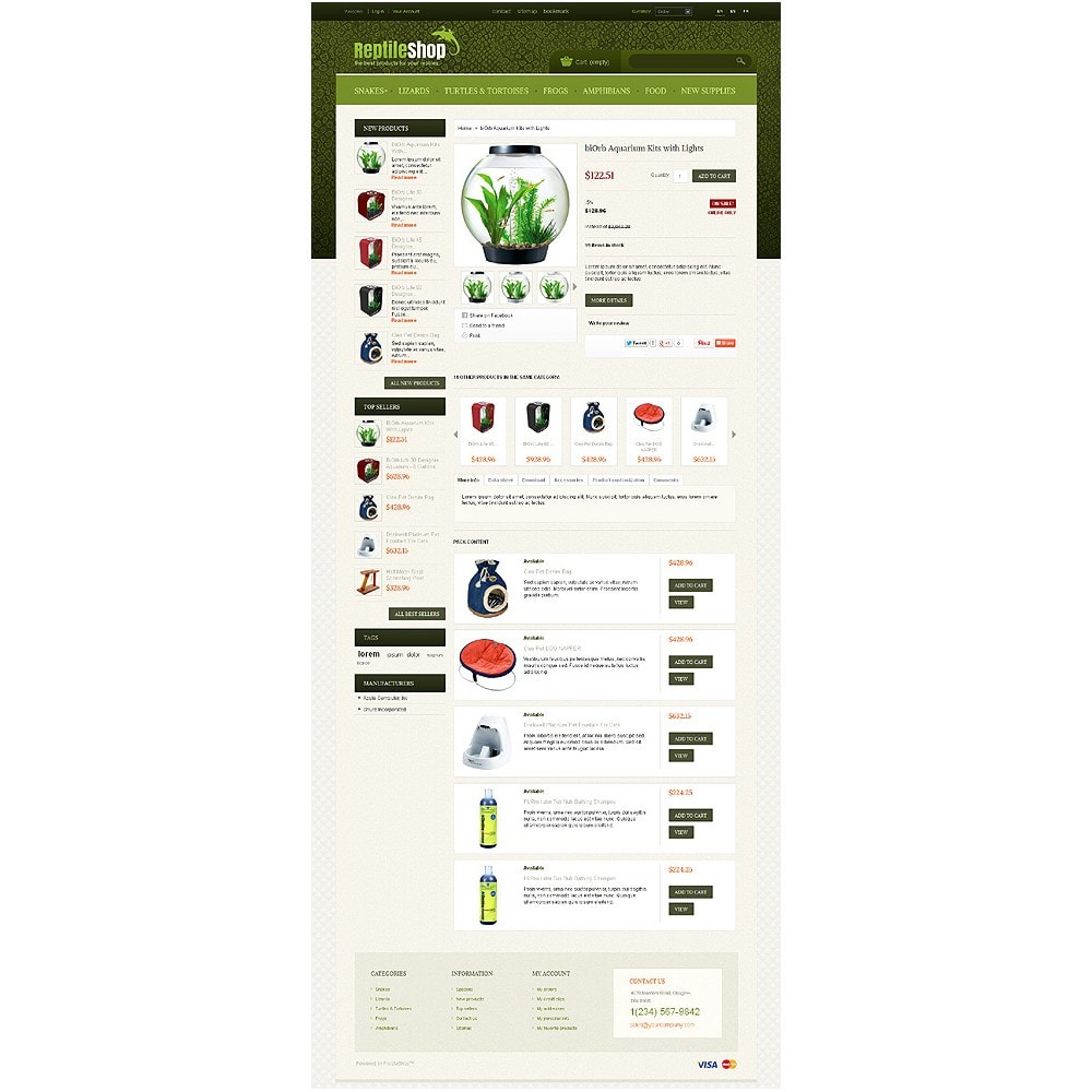 theme - Animaux - Reptile Shop - 5