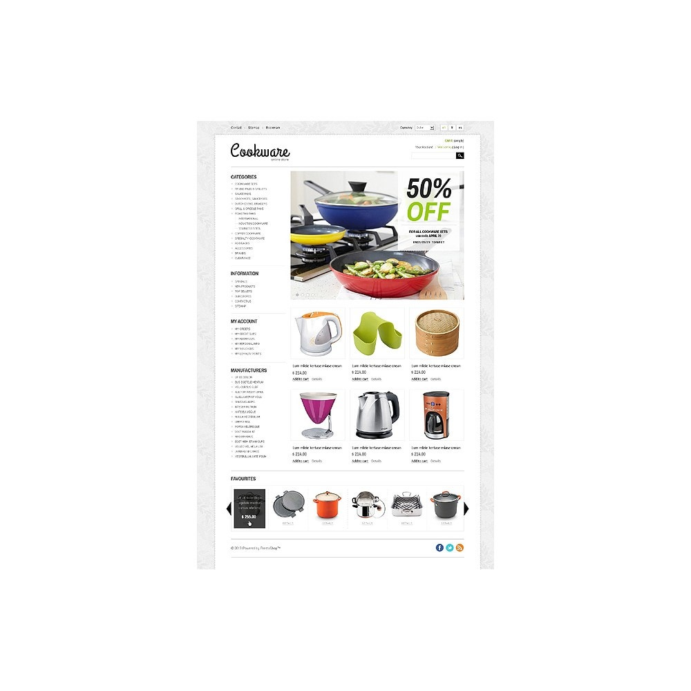 theme - Kunst & Cultuur - Cookware - 1
