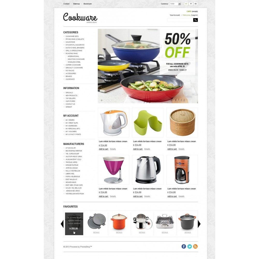 theme - Kunst & Cultuur - Cookware - 5