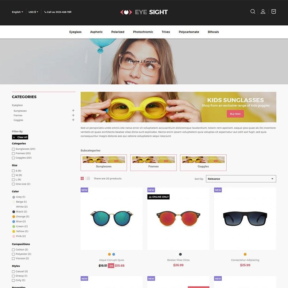 theme - Fashion & Shoes - Eyesight - Glasses Online Store - 3